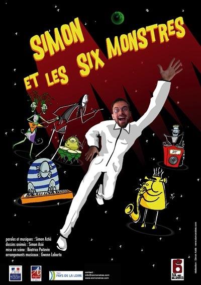 Simon et les six monstres